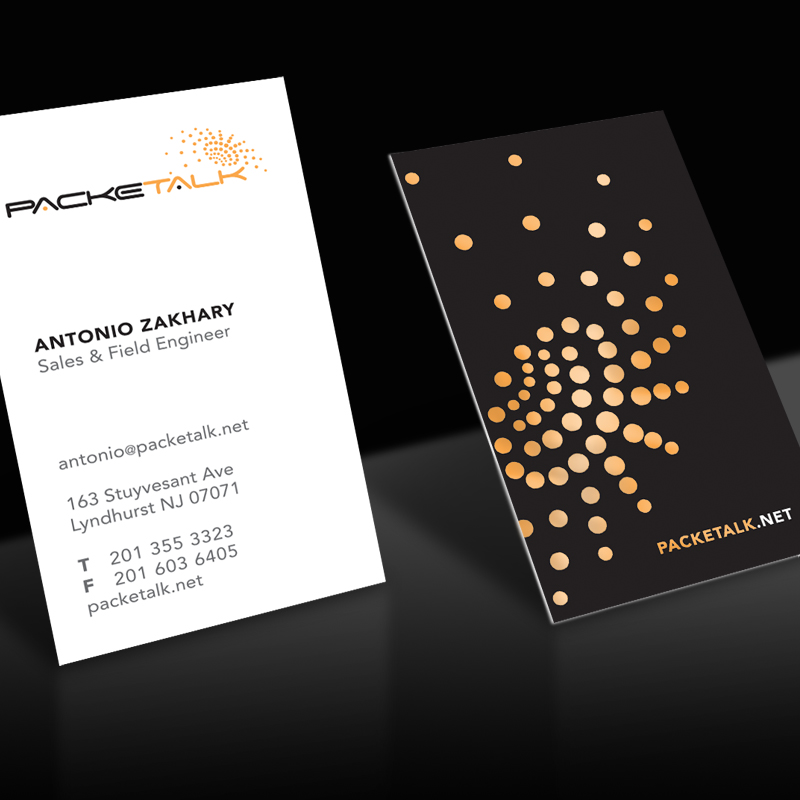 packetalk business cards