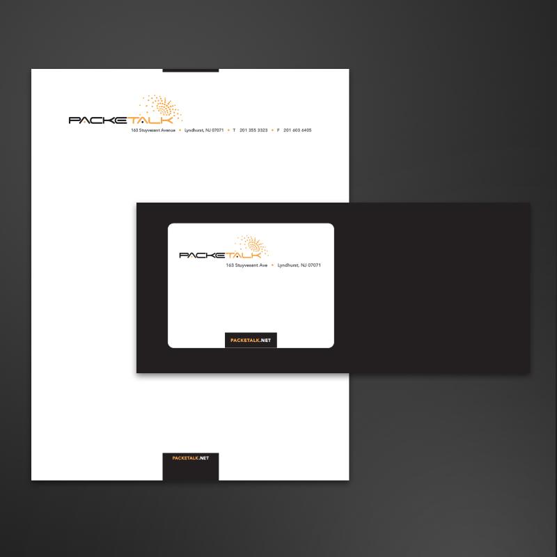 pacektalk stationery by hhw creative